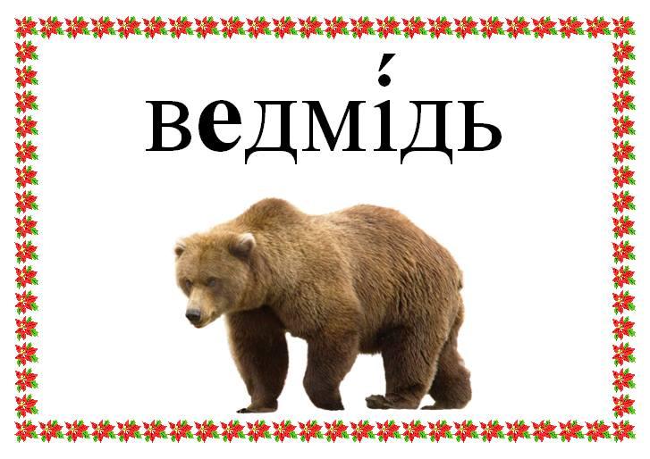 Ведмідь малюнок